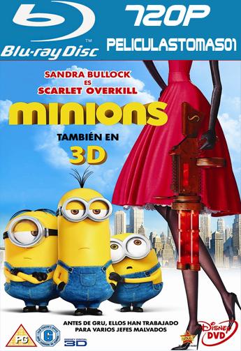 Los Minions (2015) [BDRip m720p/Dual Castellano-ingles]