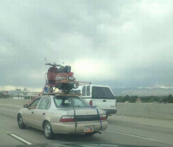 Eu acho que você esta usando o veículo errado 24