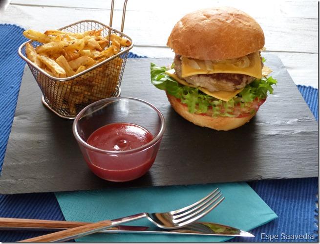 hamburguesa especiada espe saavedra