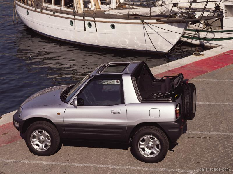 1996 toyota rav4 suv specifications pictures prices. Black Bedroom Furniture Sets. Home Design Ideas