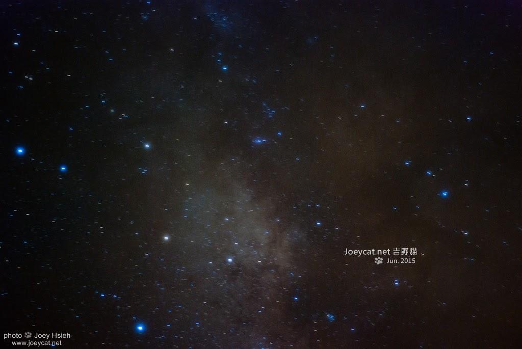 夏季銀河 武嶺