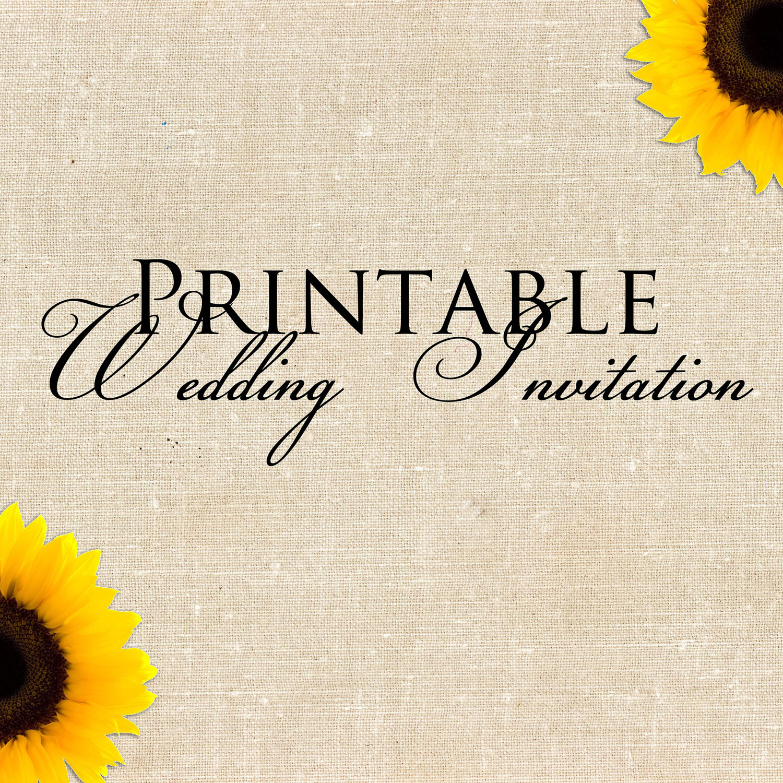 Wedding Invitation and Save