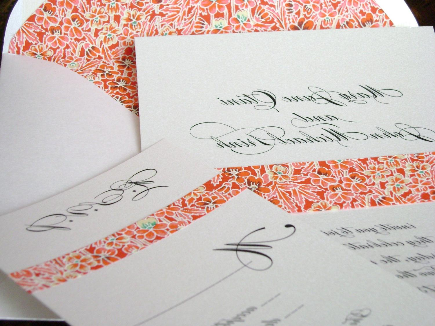 Asian Wedding Invitation with