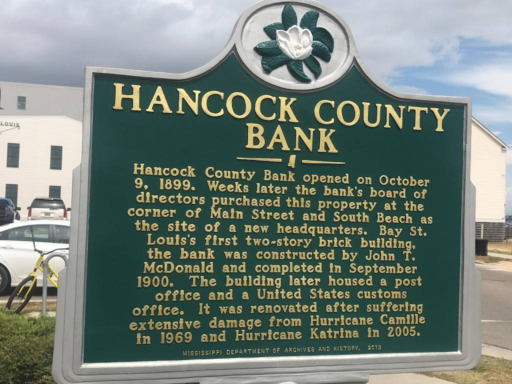 Hancock County Bank opened on October 9, 1899. Weeks later the bank's board of directors purchased this property at the corner of Main Street and South Beach as the site of a new headquarters. Bay ...