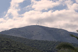 Windmolens boven Agia Efimia.