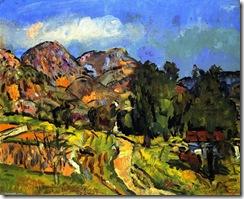 George-Leslie-Hunter-Provencal-Landscape
