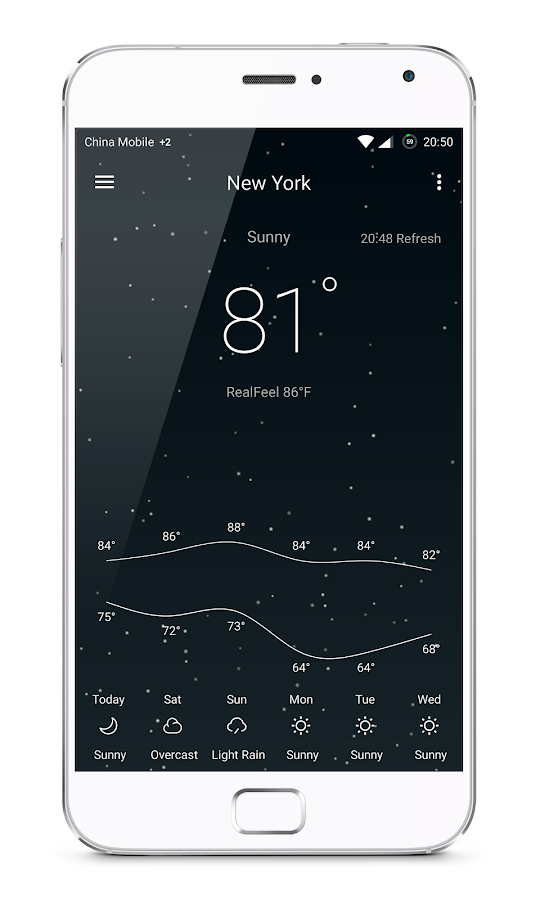 Pure Weather Pro - Forecast Screenshot 3