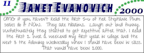 Janet Evanovich 2