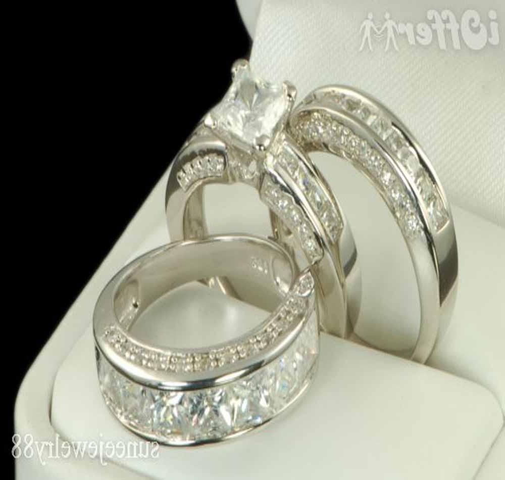 His and her wedding rings is a