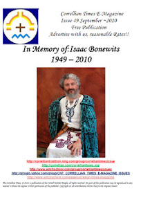 Cover of Correllian Times Emagazine's Book Issue 49 SEPTEMBER 2010 In Memory ofIsaac Bonewits