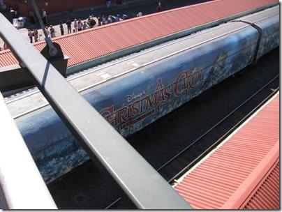 IMG_7634 Christmas Carol Train Car MRLX #801102 at Union Station in Portland, Oregon on July 1, 2009