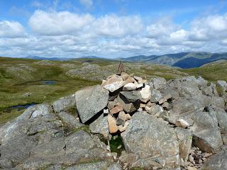 Sergeant Man summit cairn.