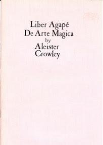 Cover of Aleister Crowley's Book Liber 414 Agape De Arte Magica