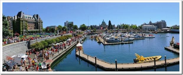 2015 PNW trip day 9: Canada Day in Victoria, BC