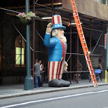 uncle sam in New York City, New York, United States