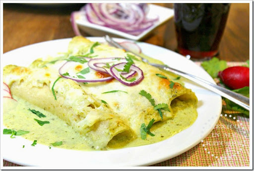 Mexico in My Kitchen: Red Enchiladas Recipe / Receta de Enchiladas ...