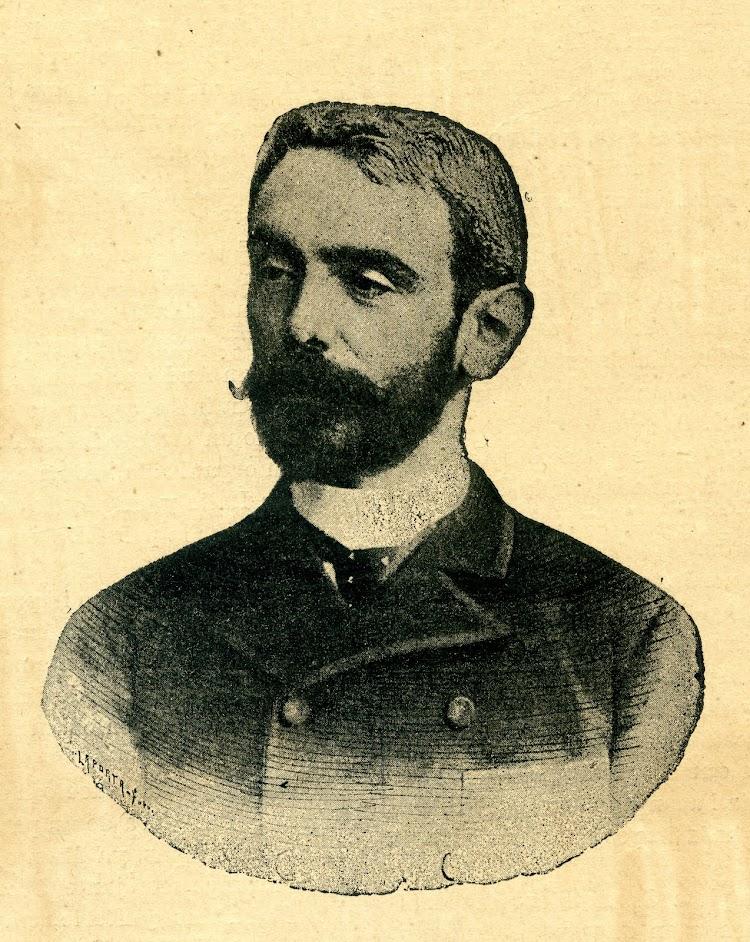 Retrato de D. Joaquín del Piélago y Sánchez de Movellan. Primer Administrador Gerente de la Compañía. Revista de Navegación y Comercio. Año 1893.jpg