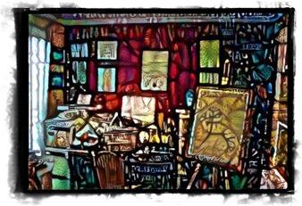 An optimistic view of my studio