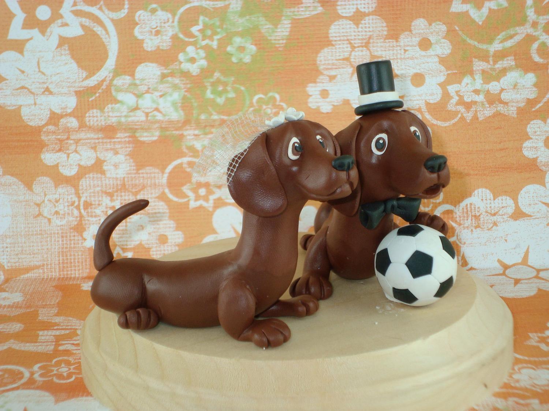 Custom Made Dogs Wedding Cake