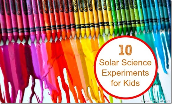 10 FUN Solar Science Experiments for Kids - So many really clever ideas like why kids should wear sunscreen and a DIY parabolic solar cooker. These would be great summer activities for kids of all ages.