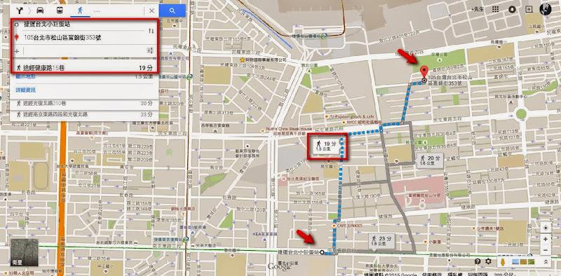 從捷運小巨蛋站走到富錦樹咖啡.jpg
