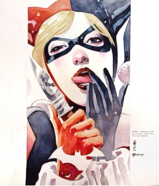 The Encounters Series - Harley Quinn by Garrie Gastonny and Elfandiary