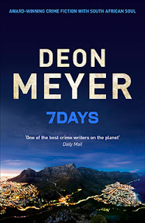 The cover of Deon Meyer's latest English novel