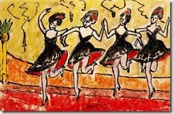 erich-heckel-four-dancers-in-black