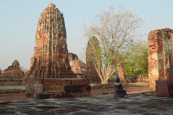 айюттайя руины храм развалины