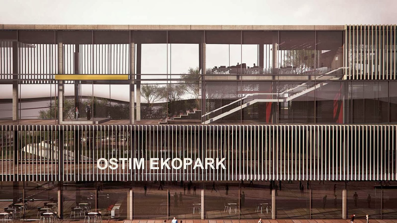 Ostim Eco Park by ONZ Architects