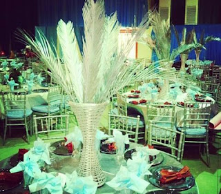 basket centerpiece