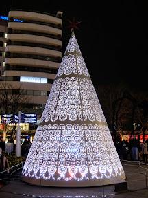 六本木ヒルズ・66プラザのクリスマスイルミネーション2014