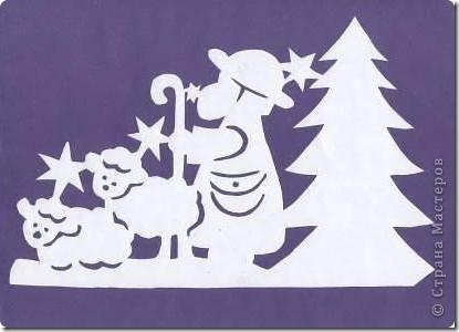 navidad arte recortado (7)