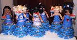 Democratic dolls with Obama candies, by Teana Allen