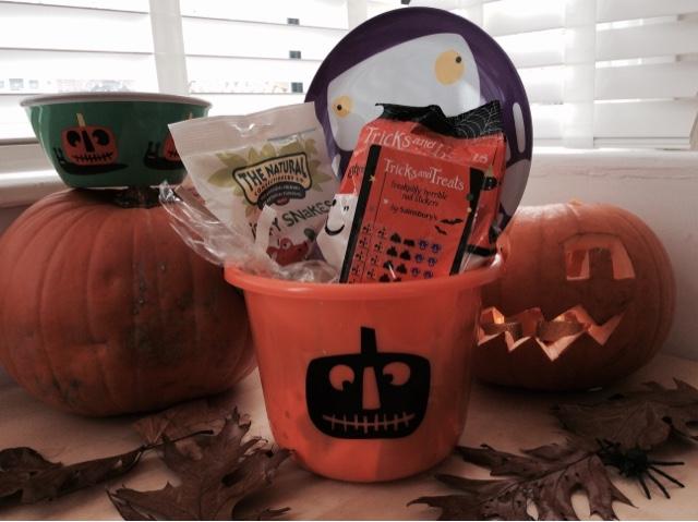 Lily's Halloween Bucket