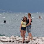 Vera und Viktoria am letzten Tag am Gardasee / Вера и Виктория в последний день пребывания на озере Гарда