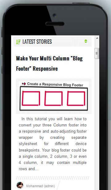 center aligned responsive thumbnail image