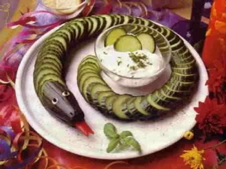 Cucina con nonna Plina: Fantasie in cucina, decorazioni antipasti ...