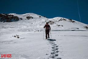 Hacia el Pico Aligás. © aunpasodelacima
