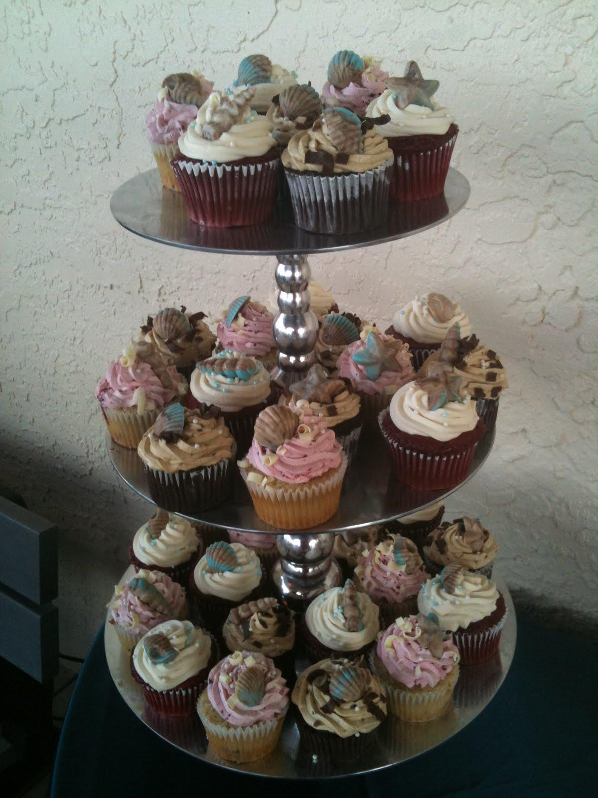 This cupcake tower was perfect