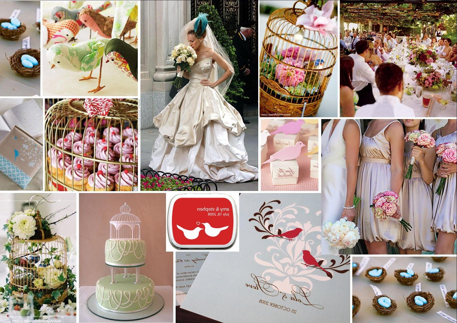 white feather wedding theme