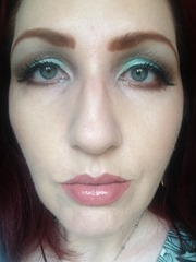 Wearing NYX Cosmetics Prismatic Eyeshadows Look 4_2