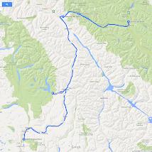 15 Roadtrip West VS en Canada 2014, Jasper naar Clearwater.png