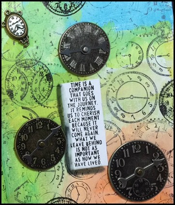 Clock Challenge Art Journal