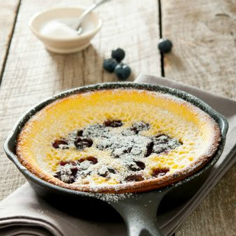 Low Carb Blueberry Clafoutis