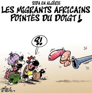 Sida en Algérie, les migrants africains pointés du doigt !