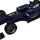 Williams Toyota FW31 left front