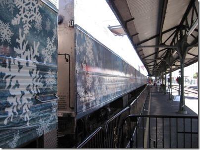 IMG_7610 Christmas Carol Train Car MRLX #801102 at Union Station in Portland, Oregon on July 1, 2009