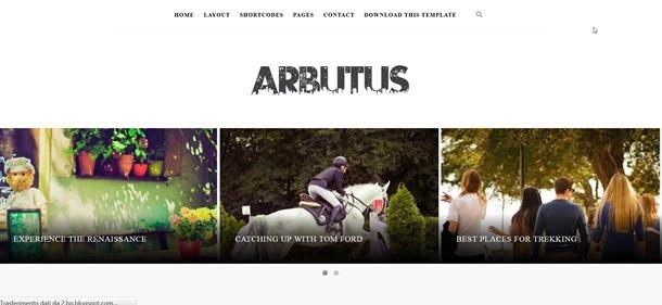 arbutus-template