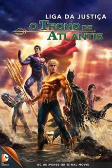 Baixar Filme Liga da Justiça: Trono de Atlântida (2015) Dublado Torrent Grátis